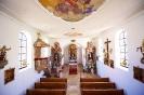 Innenansicht der alten Kirche