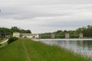 Kraftwerk Ellgau von Süden aus gesehen