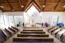 Innenansicht der neuen Kirche