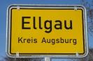 Ortsschild Ellgau