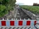 Die Kanalbauarbeiten am Baugebiet Vogtgarten III