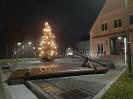 Wie alljährlich leuchtet zur Weihnachtszeit
